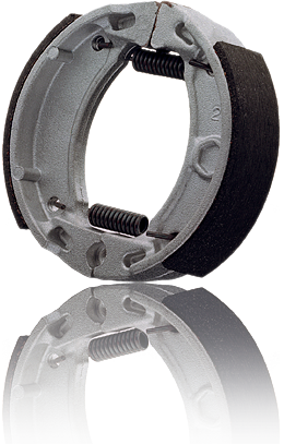 Motor-cycle brake shoes